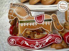 Fancy Cookies, Iced Cookies, Cute Cookies, No Bake Cookies, Sugar Cookies, Christmas Cookies, Nutcracker Christmas, Christmas Gingerbread, Paint Cookies