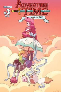 Adventure Time with Fionna and Cake #3 #comics