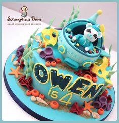 Octonauts Birthday Cake by Scrumptious Buns (Samantha), via Flickr