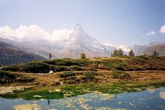 Leisee and the Matterhorn (by Linolo)