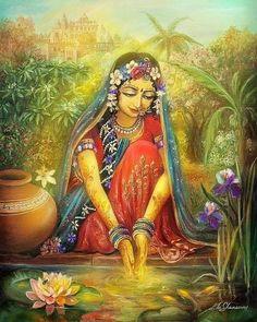 Radha Krishna Wallpaper, Radha Krishna Pictures, Lord Krishna Images, Hare Krishna, Krishna Art, Krishna Lila, Arte Hippy, Pinterest Pinturas, Arte Shiva