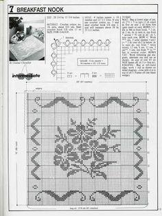 Art: Rectangular doilies crochet