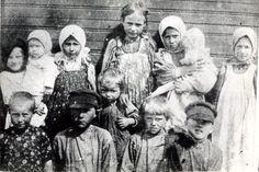 Russian peasant children, Riazan' Province,1915