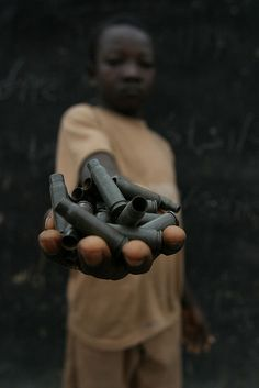 Child Soldier in the Central African Republic. Photo credit: hdptcar on Flickr