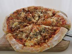 Pizza Lasagna, Ketchup, Mozzarella, Vegetable Pizza, Vegetables, Food, Pie, Essen, Vegetable Recipes