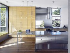 #kitchen | Laidley Modern Home in San Francisco, California by Zack | de Vito… on Dwell