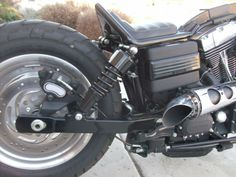 Pintail seat with an amazing kustom exhaust