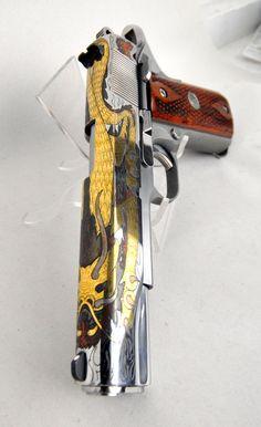 Colt Limited Edition Silver Dragon Gov't Model 1911 .45 ACP