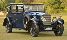 1928 Rolls Royce 20hp Cockshoot All Weather.