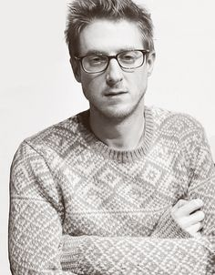 My favourite guys in sweaters. Swoon. Arthur Darvill.