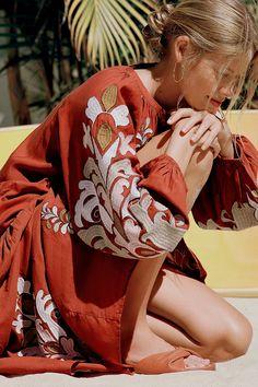 Justine Midi Dress | Anthropologie