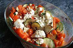 Schafskäse auf Gemüsebett, ein raffiniertes Rezept aus der Kategorie Snacks und kleine Gerichte. Bewertungen: 29. Durchschnitt: Ø 4,5.