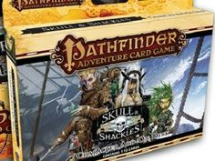 Comics Crux - Paizo Is Bringing Skull & Shackles To Their Pathfinder Adventure Card Game #PaizoPublishing #Pathfinder #comicbookgames