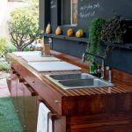 Bahçe Mutfak Fikirleri | | Dekorasyon Cini