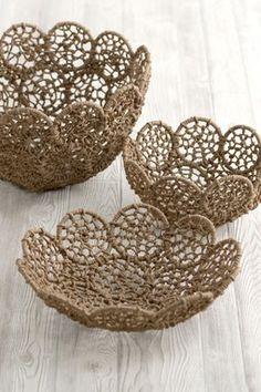 macrame bowls Daily update on my website: ediy3.com