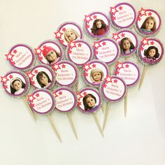American girl desserts toppers