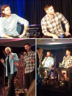 #Jensen #Jared #DCCon14 Being in sync again