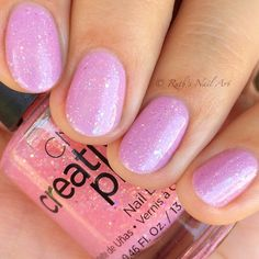 """""""Pinkle Twinkle"""" by CND nails Cute Pink Nails, Nice Nails, Cnd Nails, Nail Polishes, Snail Art, Short Nails Art, Innovative Ideas, Calming Colors, Manicure And Pedicure"""