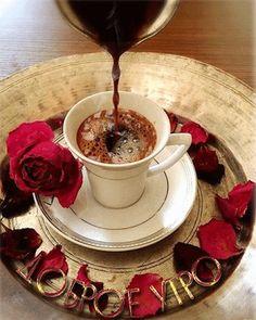 Good morning it's coffee time ~. Coffee Gif, Coffee Latte Art, I Love Coffee, Coffee Break, My Coffee, Coffee Cups, Black Coffee, Good Morning Coffee, Good Morning Gif