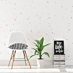 Mini Pastel Confetti Dots