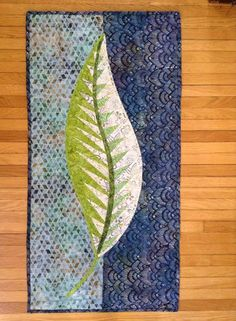 One: Quiltworx.com Leaf Series, Quiltworx.com, Made by Libby at CS All In Stitches.