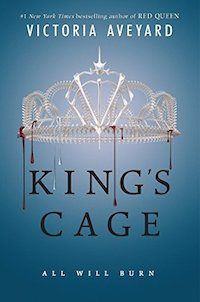 King's Cage by Victoria Aveyard is one of the year's biggest books to read for young adults.