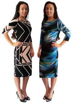 Tunic Dress - $59.00 :: DCM Apparel - Modern Modest Clothing