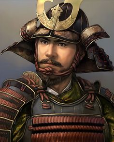 Nobuhide Oda Medieval Fantasy, Dark Fantasy, Fantasy Art, Character Portraits, Character Art, Character Design, Buildings Artwork, Chinese Artwork, Samurai Artwork