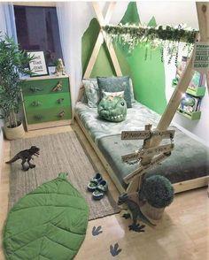 Dinosaur little boy's room Jungle dinosaur kids room