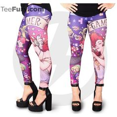 Gamer Nouveau Leggings ($39) ❤ liked on Polyvore