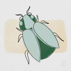 """Iris Stam on Instagram: """"#day174: beetle. .  #makingarteveryday #mae2020 #makingarteveryday2020 #drawingdaily #draweveryday #drawingeverydaychallenge…"""" Beetle, Iris, Watercolor Paintings, Natural, Drawings, Instagram, June Bug, Beetles, Watercolor Drawing"""