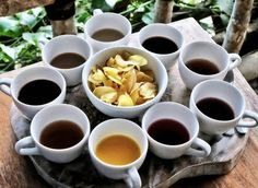 #Bali. Coffee Chocolate & Tea tester at @basanta_agro_bali. Something fresh from nature is always please to have