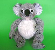 PDF Crochet Pattern KOALA von bvoe668 auf Etsy