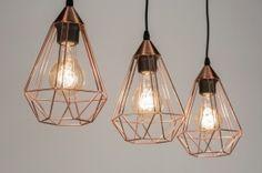 Hanglamp 72271: Modern, Eigentijds Klassiek, Landelijk, Rustiek