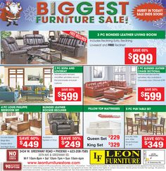 Hurry Up! Biggest Furniture SALE Is Onn Now At The Best Furniture Store In  Phoenix