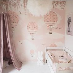 Little Hands Wallpaper Mural - The wallpaper can be ordered in various sizes. We are like tailors, the wallpaper will fit perfectly on your wall, you just have to give us the measures you need! Baby Nursery Bedding, Baby Bedroom, Girl Nursery, Girls Bedroom, Little Hands Wallpaper, Kids Room Wallpaper, Room Wall Painting, Cool Kids Rooms, Little Girl Rooms