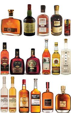 Some of the sponsored rums from the 2013 Miami Rum Fest! - TU  http://www.miamirumfest.com/Rums.html