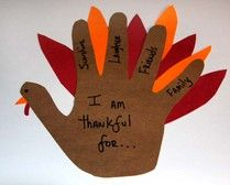 Hand drawn turkey
