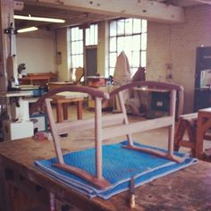 """Studio visit with furniture maker Jason Lewis #chicago #handmade"""