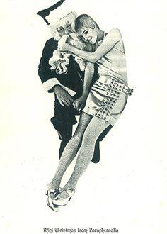 """Mini Christmas from Paraphernalia"" Betsey Johnson 1966"