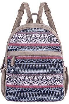 Cute Backpack for Women Canvas High School Daypack Casual Bookbags from Bag    Backpack 2823519dd93e4