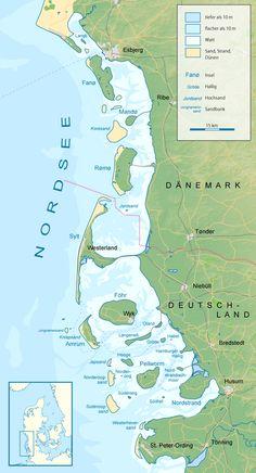 Nordfriesische Inseln – Wikipedia