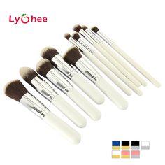 5.99$ (More info here: http://www.daitingtoday.com/10-pcs-professional-makeup-brush-set-maquiagem-beauty-foundation-powder-eyeshadow-cosmetics-make-up-brushes-kabuki-brush-tool ) 10 pcs Professional Makeup Brush Set Maquiagem Beauty Foundation Powder Eyeshadow Cosmetics Make Up Brushes Kabuki Brush Tool for just 5.99$