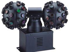 Ламповые DISCO приборы : ACME MH-258 ROBALL II - Световой эффект два вращающихся шара, 45 линз в каждом, лампа: BVM 120V/300