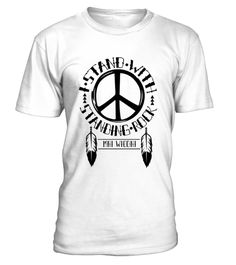 # Rock Nodapl MNI WICONI Premium T-Shirt .                I Stand With Standing Rock Sioux Tribe Shirt. We are against the Dakota Pipeline because water is life. Support the Standing Rock Sioux tribe!Indian feathers hang from the STANDING ROCK text. Underneath is WATER IS LIFE.                      TIP: If you buy 2 or more (hint: make a gift for someone or team up) you'll save quite a lot on shipping.  Guaranteed safe and secure checkout via: Paypal | VISA | MASTERCARD  Click the GREEN…