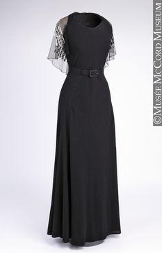 Evening Dress 1934 by Jeanne Lanvin