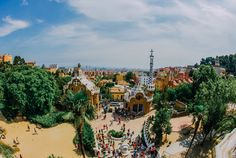 Park Guell Barcelona by Gaudi