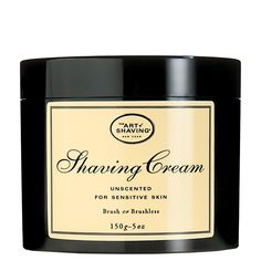 Shaving cream from the Art of Shaving is supposed to be some of the best on the market.  We'll see...      Shaving Cream - Unscented