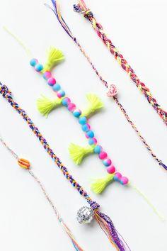 7758dec7ae35b 180 Best IDEAS: Friendship Bracelets & Necklaces images in 2019 ...