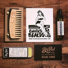 Here at BRBC we're all about helping our fellow Beardsman. We encourage everyone to share their views of the different BRBC products, through reviews on our website. Actually we reward it. Every month we pick a review and that person wins the monthly prize pack. This month it's Zac Paterson.  His beards is about to receive a beautiful pinup girl No.9 on figured maple, a beard oil, and a beard balm.  Enjoy and congratulations brother. #bigredbeardcombs #beardcomb #pocketcomb #comb #beard…
